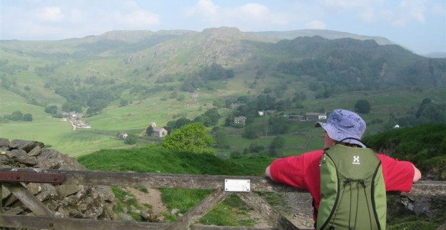 Walking in the Kentmere valley